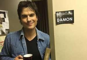 《吸血鬼日记》杀青 Ian感谢粉丝:爱你的