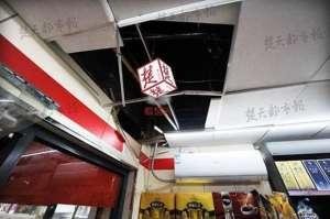 超市天花板藏活人:半夜跳下行窃三次偷走10多万元的香烟 警方介入调查