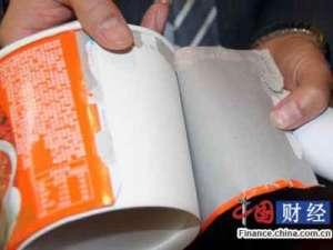 专家揭餐饮包装潜规则:个别企业内外用纸不同