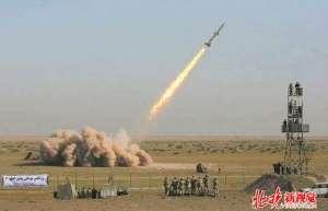 """伊朗军方试射导弹 强调军演是对华盛顿""""威胁和制裁""""的回应"""