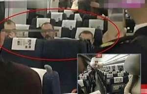 波兰男子骚扰乘客 对女子伸出咸猪手态度十分嚣张