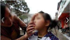 女童遭老人掌掴 监控显示:打人者抬手打了一巴掌,又反手再打了一巴掌