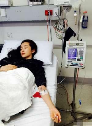 李冰冰澳洲高烧16天 罪魁祸首是化脓性扁桃体炎