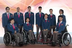 里约残奥会中国体育代表团礼服及领奖服正式发布