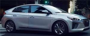 现代IONIQ纯电动车将在美上市 分插电式和混动两款
