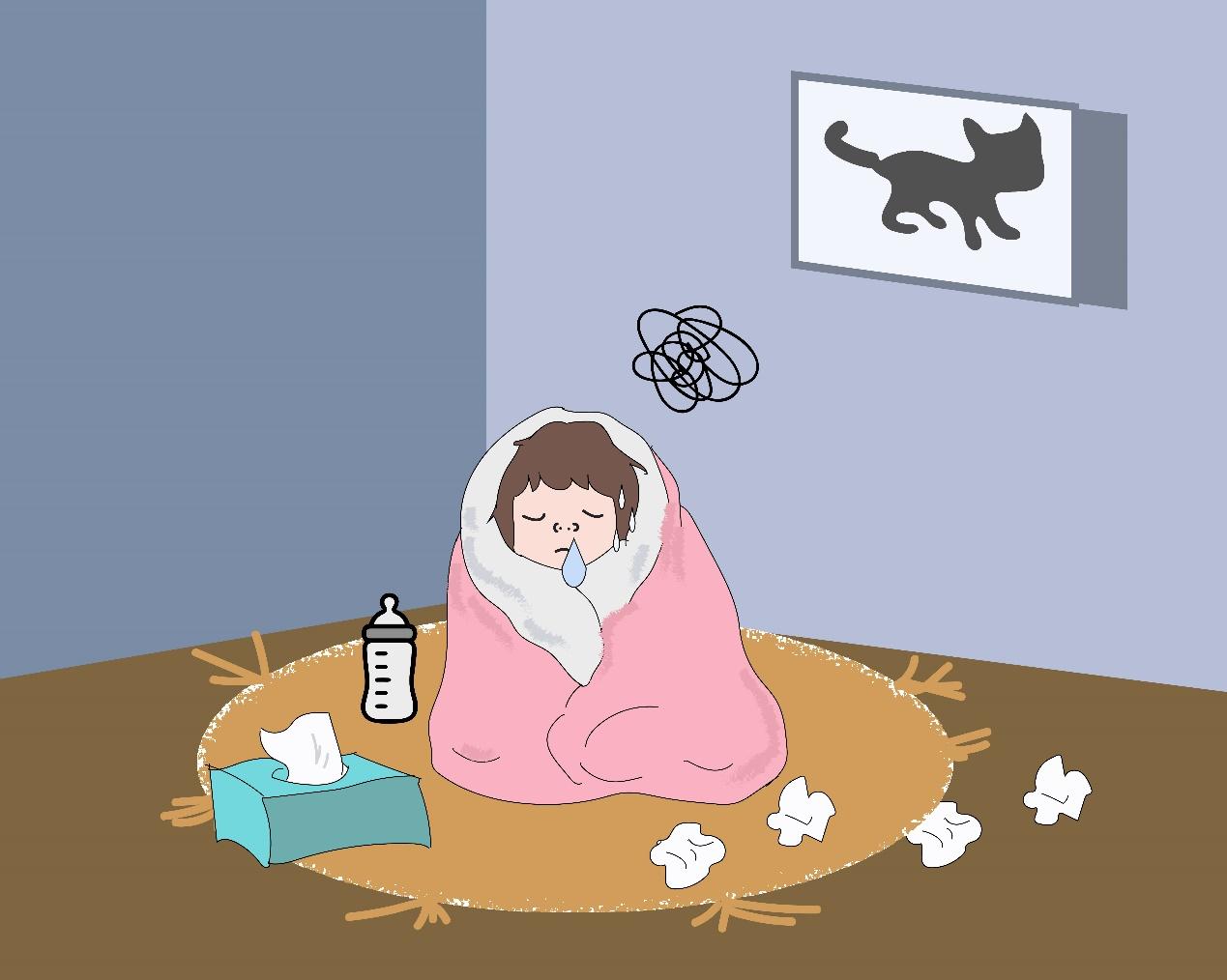 老是反复感冒怎么回事?气虚体质在作怪